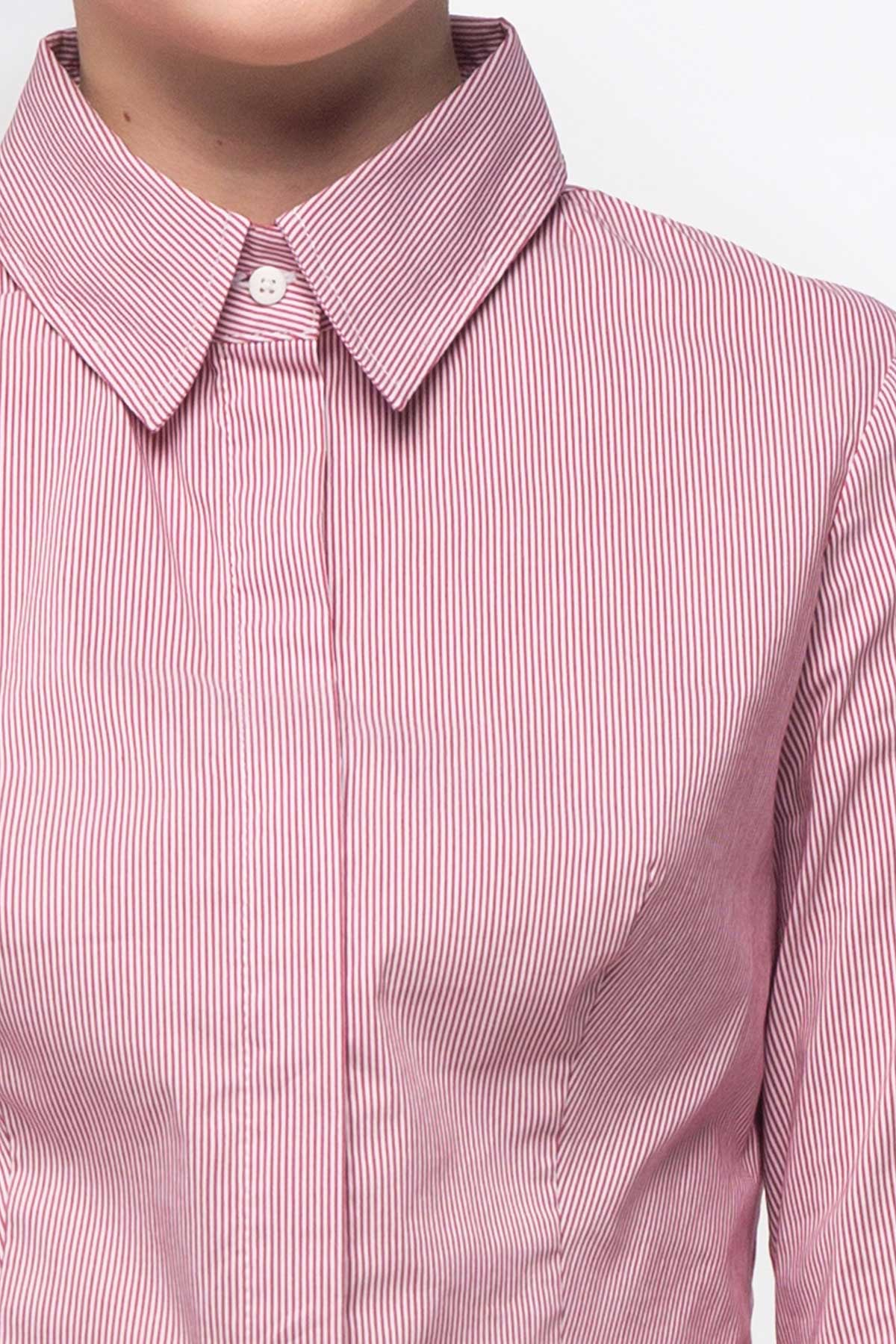 be2c0fb0 Pink striped T-shirt photo 6 - MustHave online store