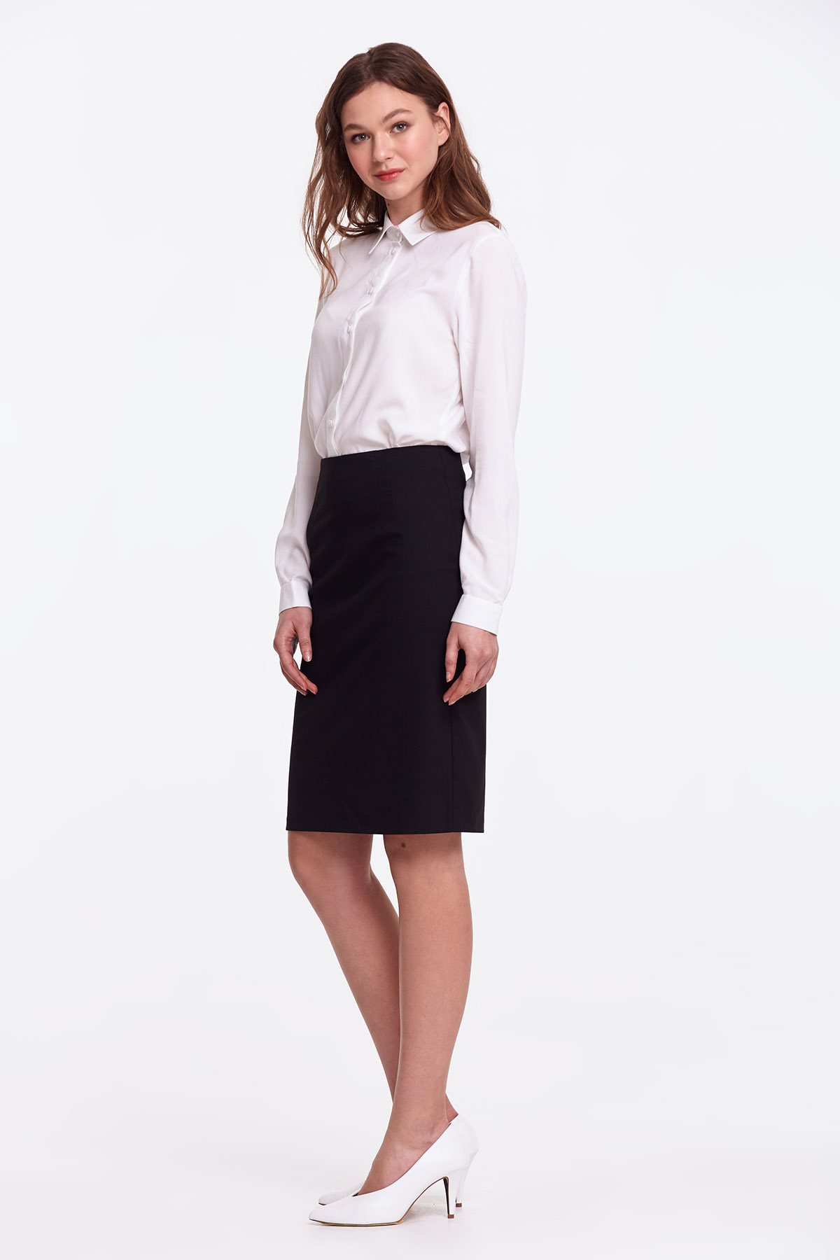 bf91d3b40 Black pencil skirt photo 3 - MustHave online store