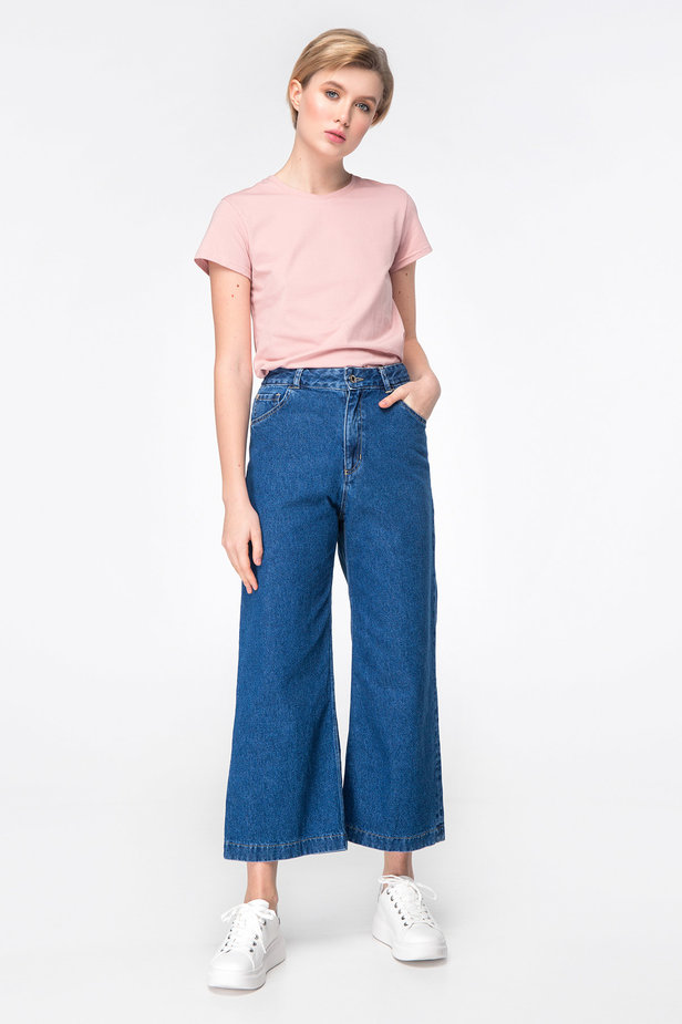 Blue jeans-culottes photo 4 - MustHave online store