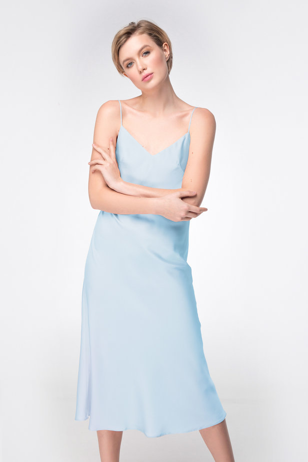Blue dress-combination photo 4 - MustHave online store