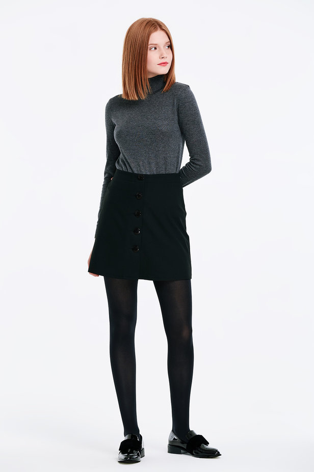 Grey polo neck photo 4 - MustHave online store
