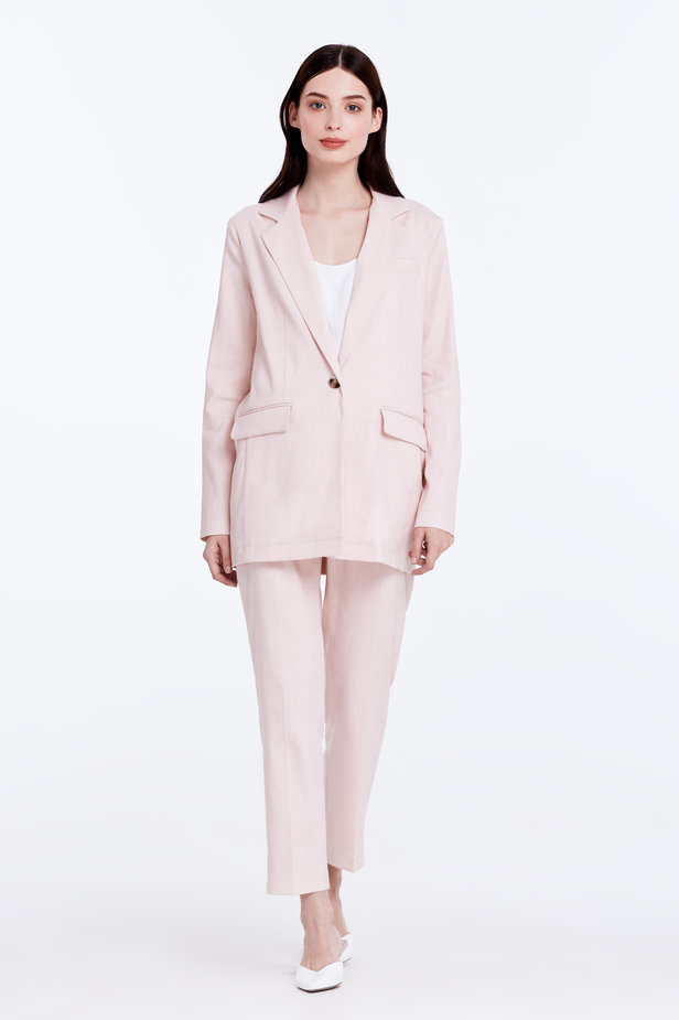 Powder pink jacket photo 4 - MustHave online store
