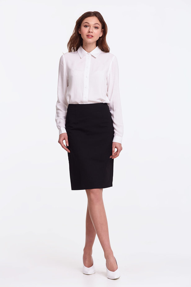 Black pencil skirt photo 2 - MustHave online store