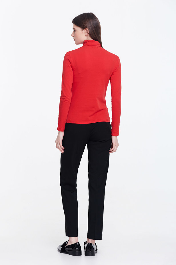 Red polo neck photo 2 - MustHave online store
