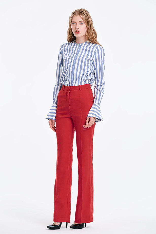Red trousers photo 5 - MustHave online store