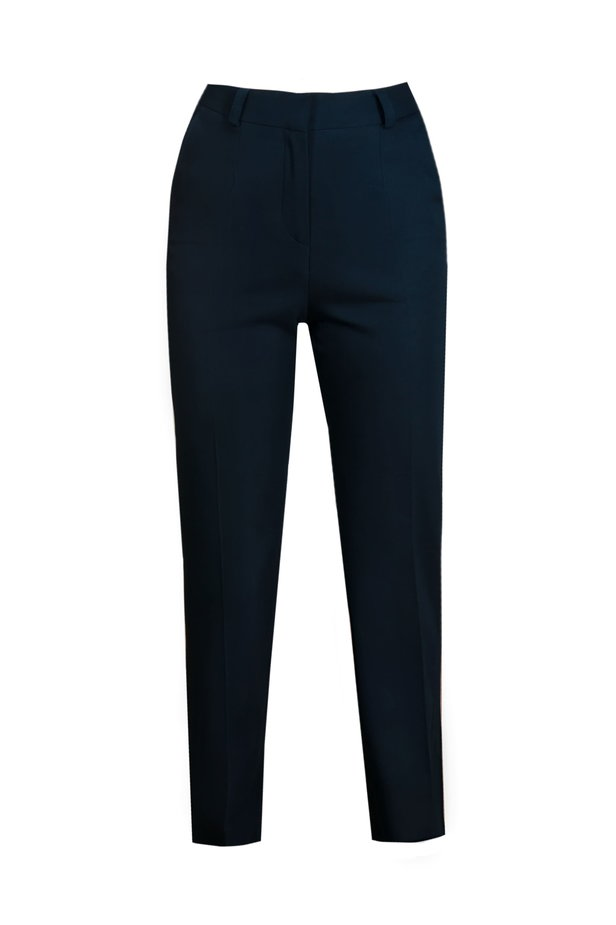 Straight dark blue pants photo 2 - MustHave online store
