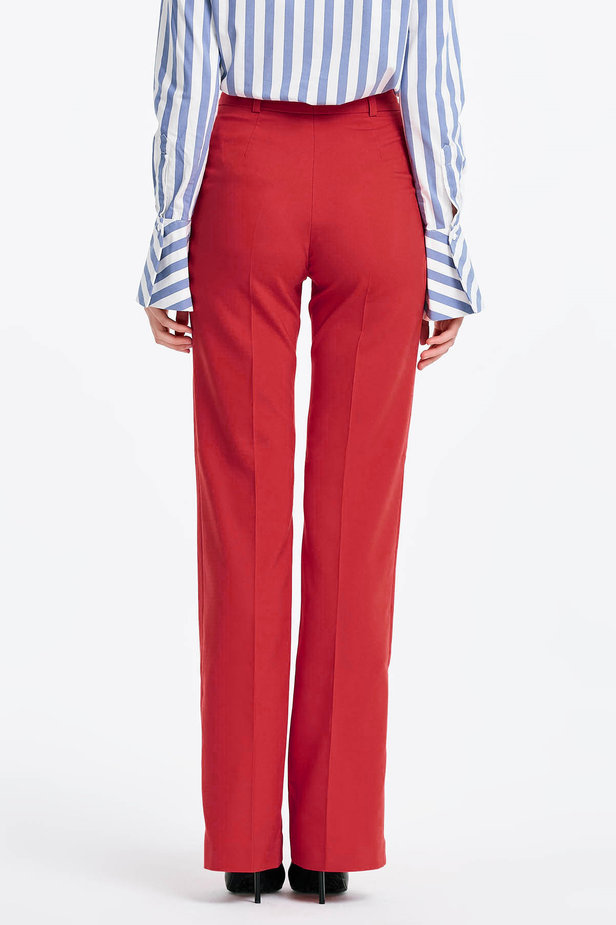 Red trousers photo 3 - MustHave online store
