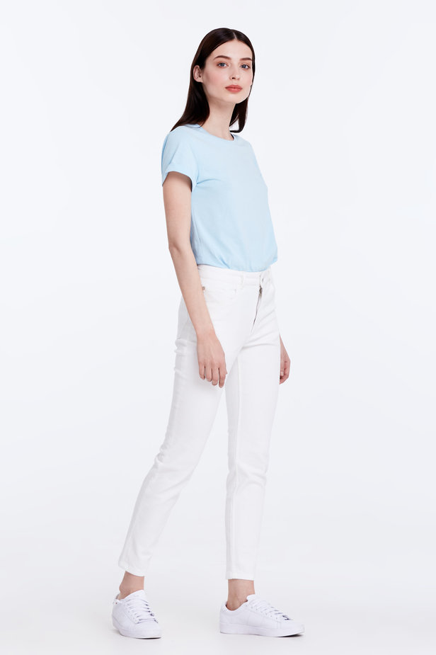 Skinny white jeans photo 4 - MustHave online store
