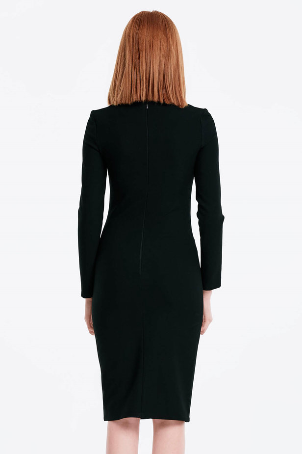 Column black dress photo 2 - MustHave online store