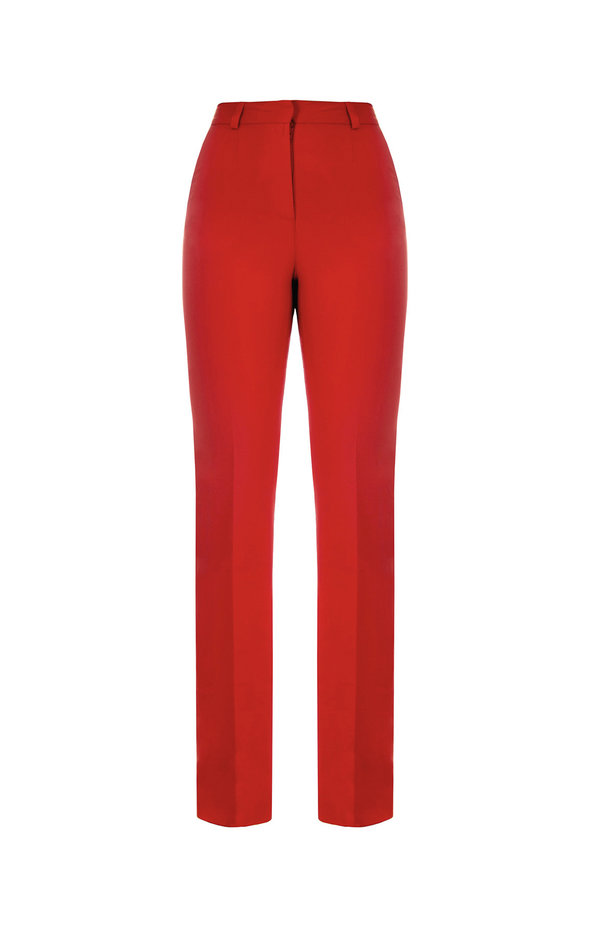 Red trousers photo 6 - MustHave online store