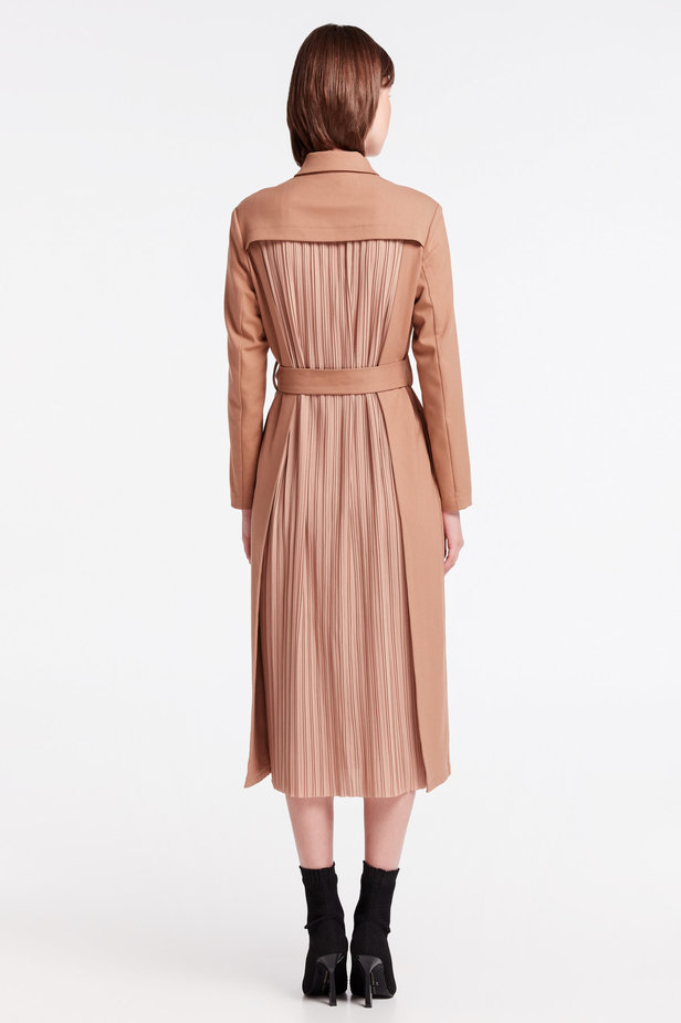 Beige dress-trench MUSTHAVE X LITKOVSKAYA photo 5 - MustHave online store