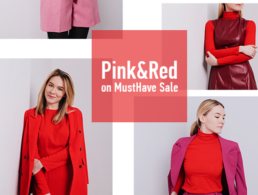 Here Comes the Trend: Pink & Red Duo
