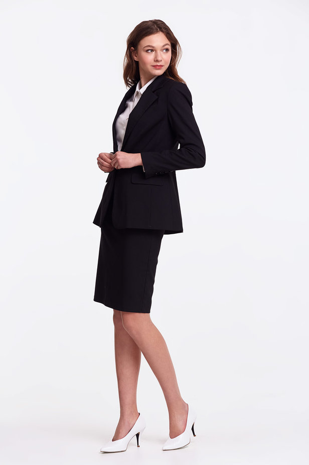 Black pencil skirt photo 8 - MustHave online store