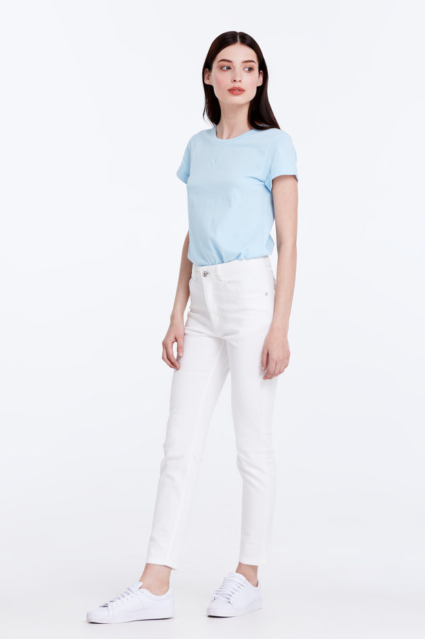 Skinny white jeans photo 3 - MustHave online store