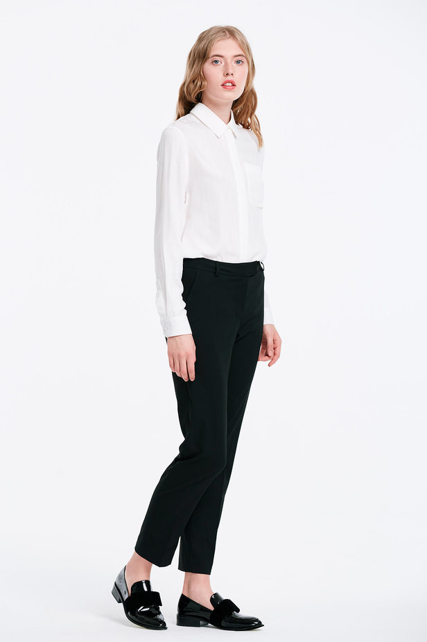 Short black trousers photo 4 - MustHave online store
