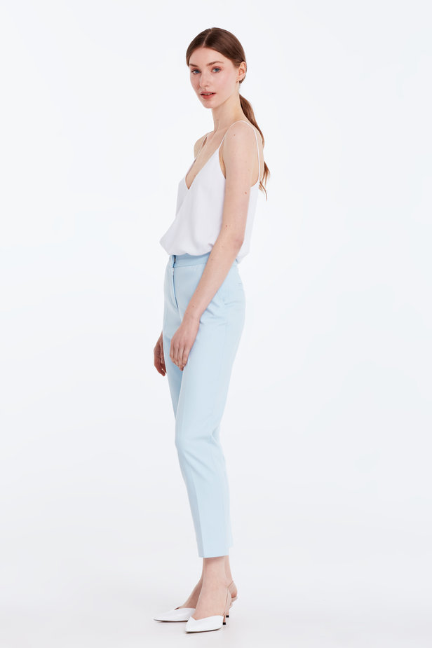Short blue trousers photo 2 - MustHave online store