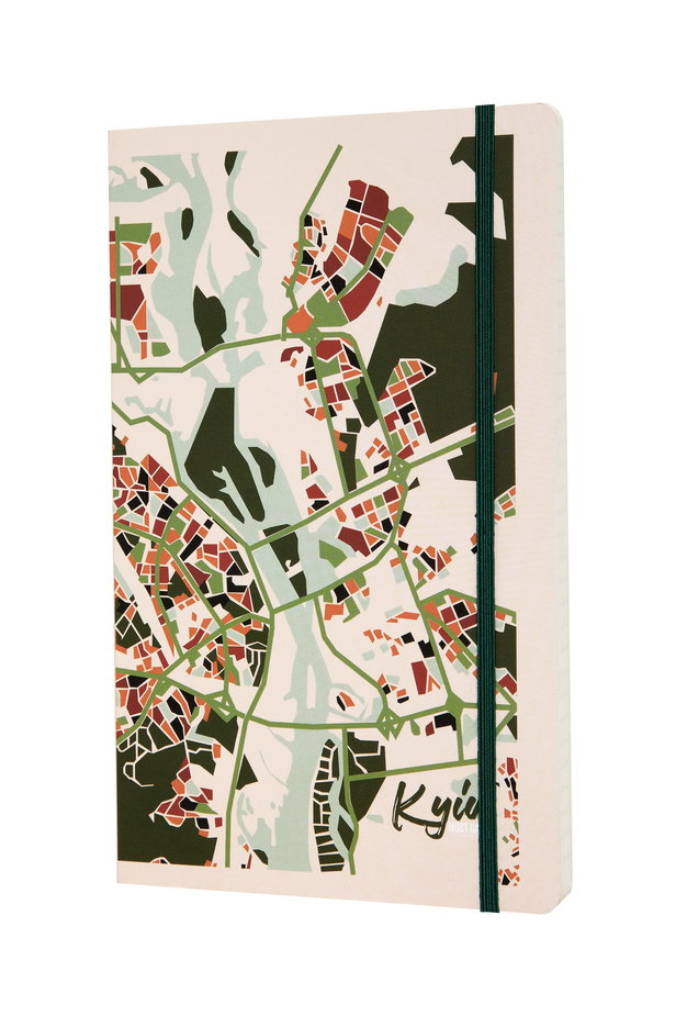 "Notebook MustHave ""Kyiv Map"" photo 1 - MustHave online store"