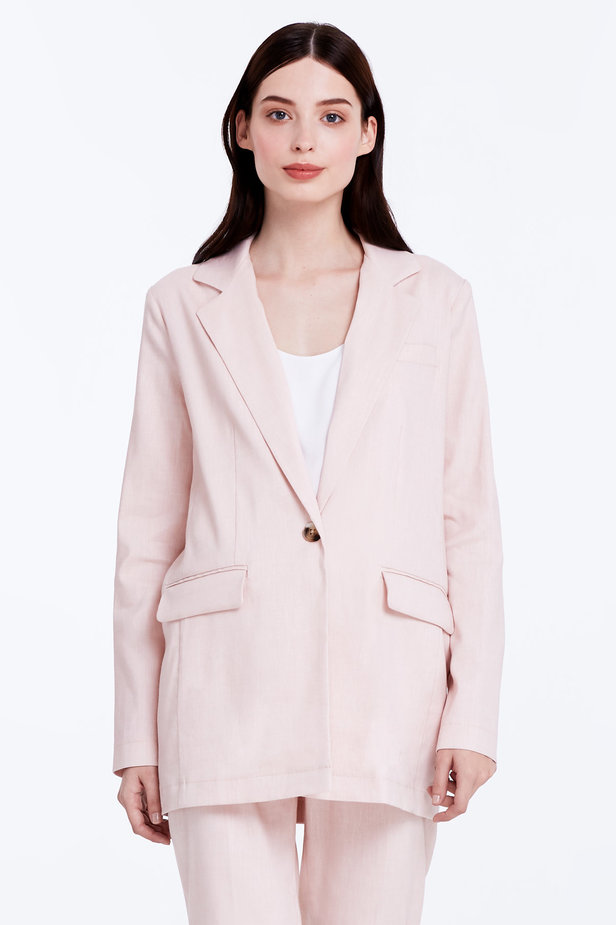 Powder pink jacket photo 1 - MustHave online store