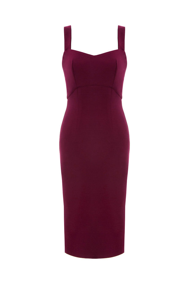 Wine sundress with straps photo 6 - MustHave online store