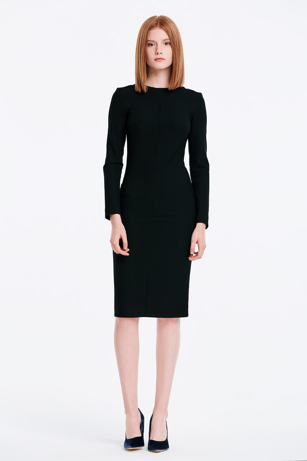 Column black dress photo 5 - MustHave online store