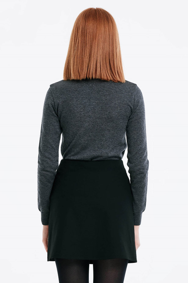 Grey polo neck photo 5 - MustHave online store