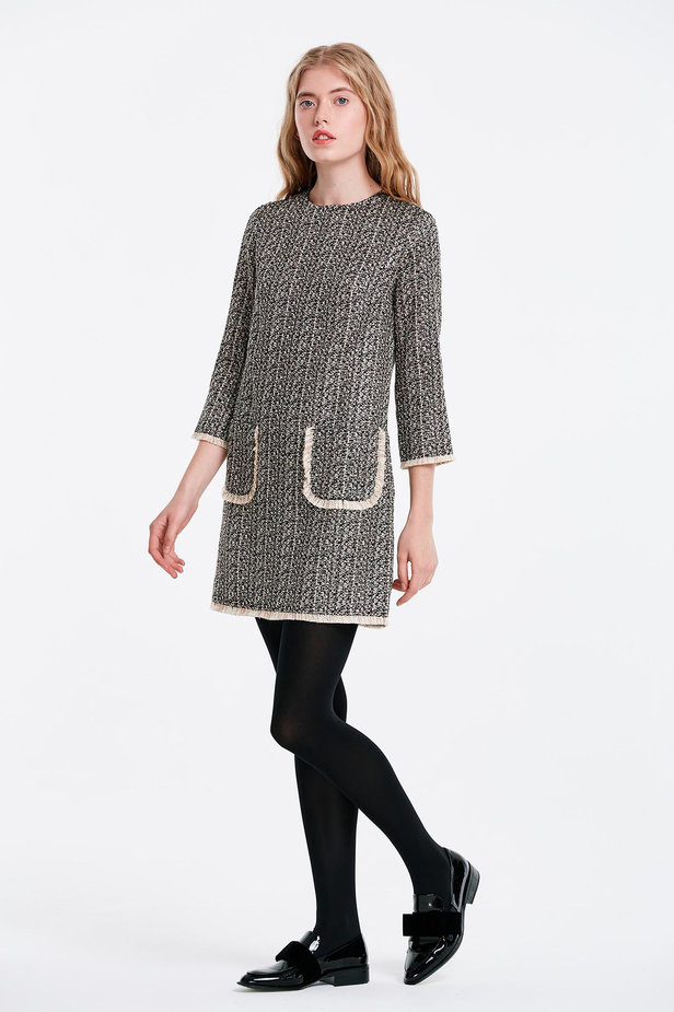 Dress with lurex and pockets photo 5 - MustHave online store