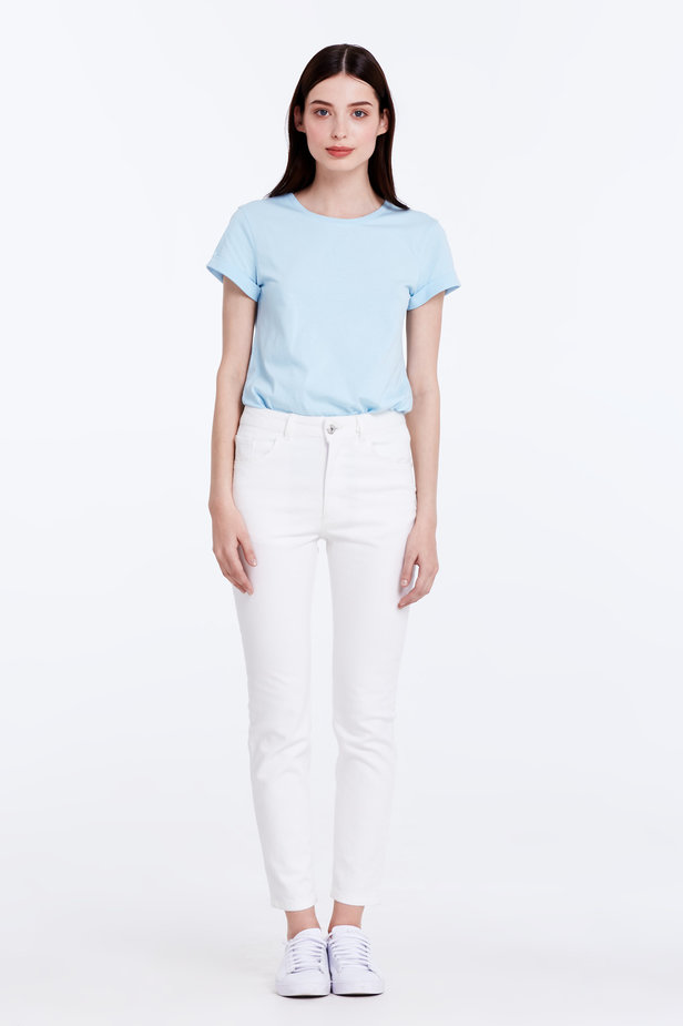Skinny white jeans photo 2 - MustHave online store