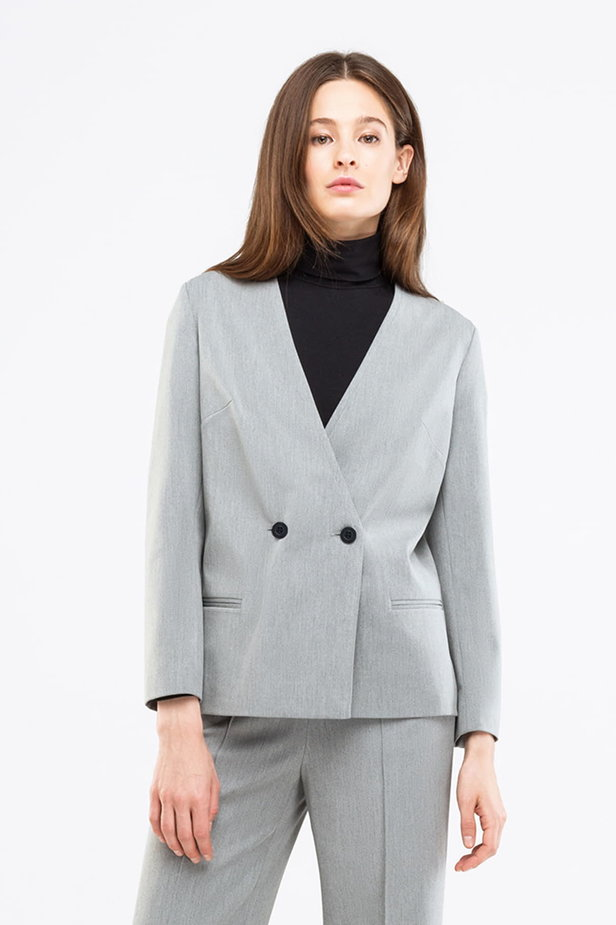 Grey jacket photo 1 - MustHave online store