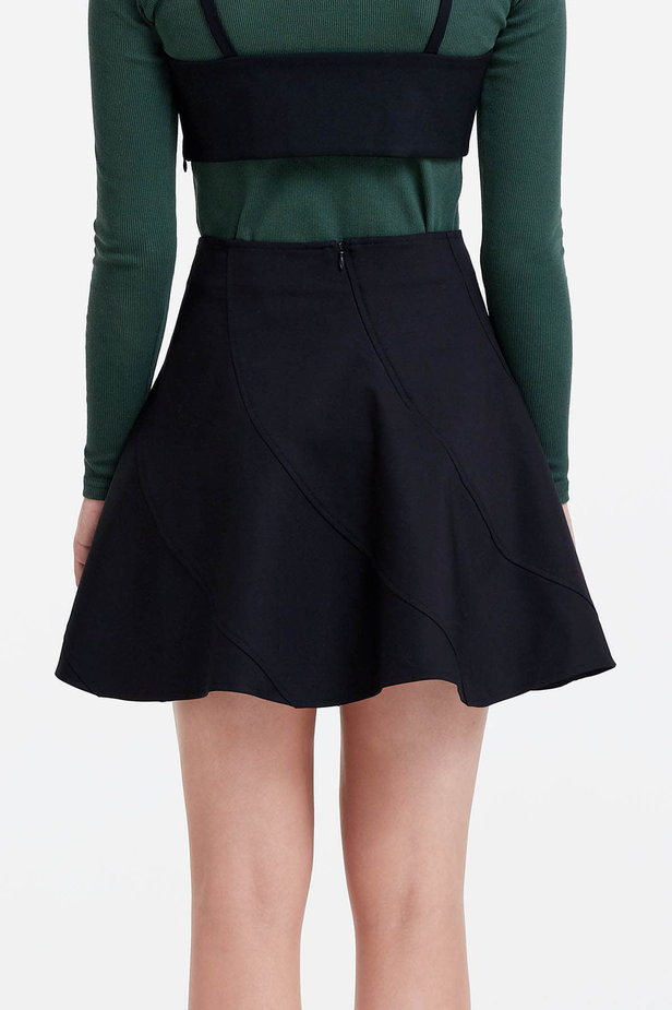 Mini black skirt photo 4 - MustHave online store