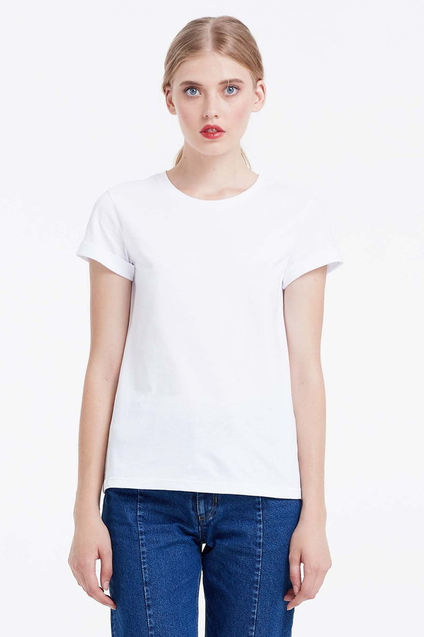 White T-shirt photo 1 - MustHave online store