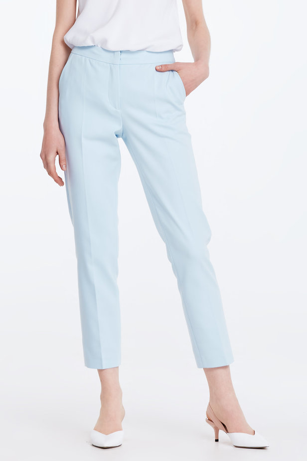 Short blue trousers photo 1 - MustHave online store