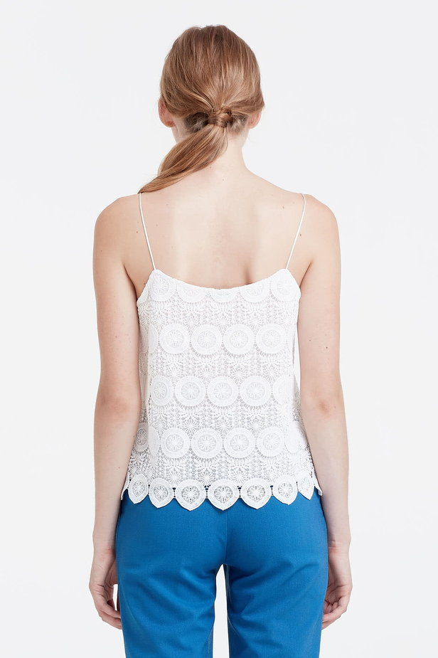 White lace top photo 5 - MustHave online store