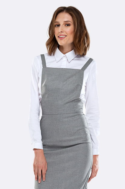 Grey sundress with straps