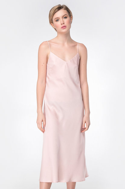 Dress combination at pink color