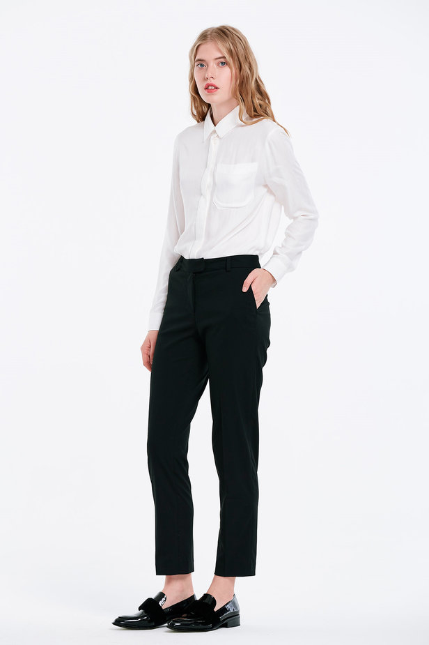 Short black trousers photo 3 - MustHave online store