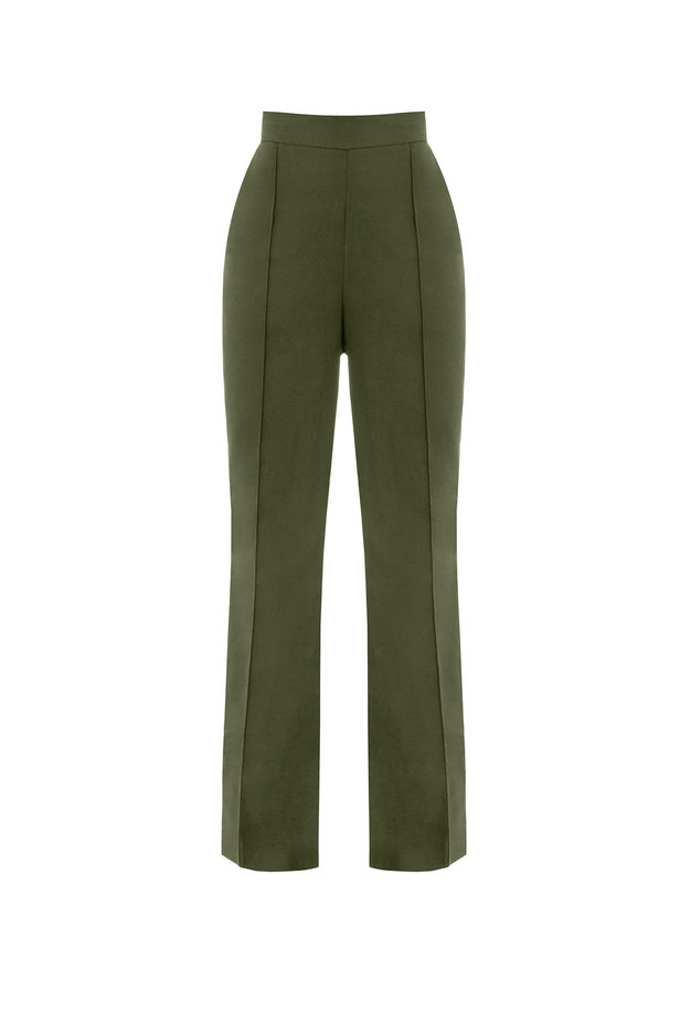 Khaki trousers photo 2 - MustHave online store
