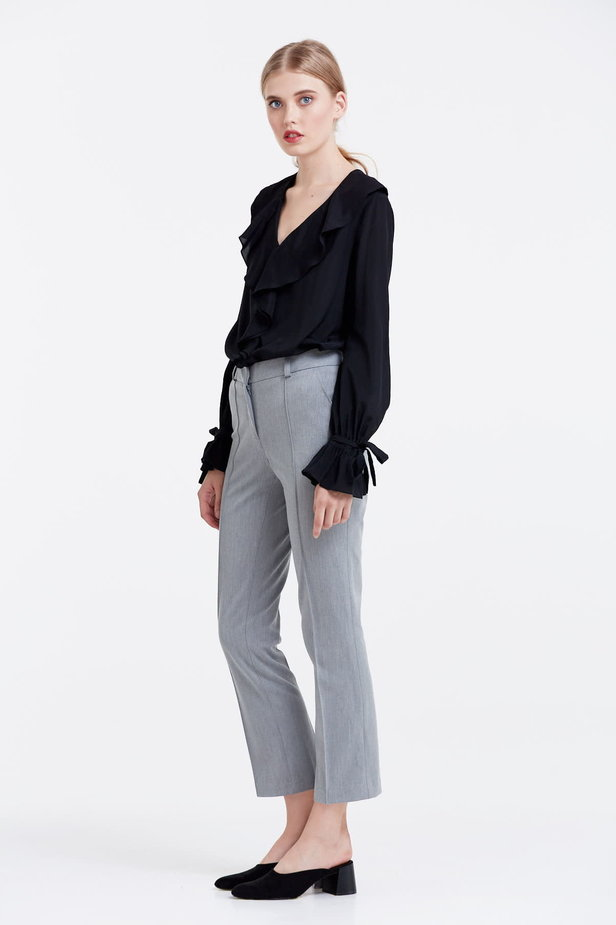 Grey trousers photo 3 - MustHave online store