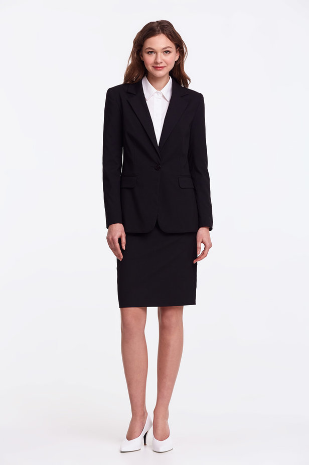 Black pencil skirt photo 7 - MustHave online store