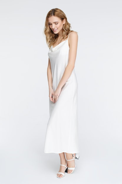 White dress-combination