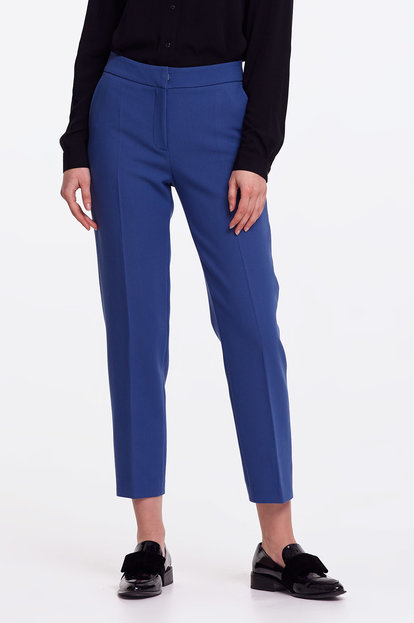 Short blue trousers