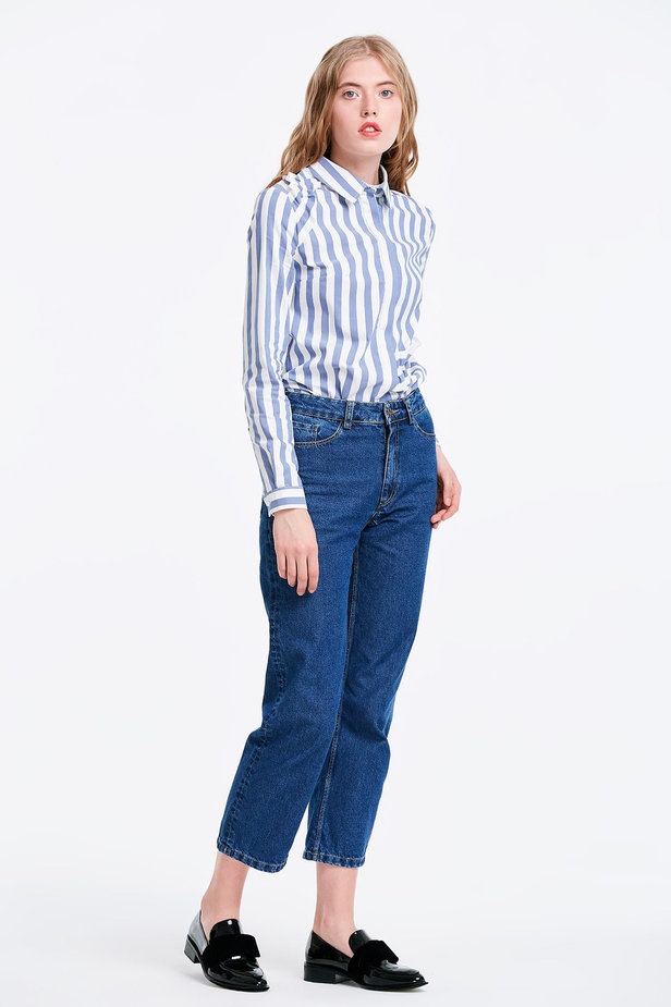 Short blue jeans photo 5 - MustHave online store
