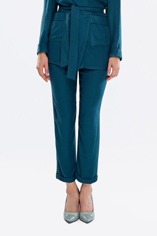 Cyan pants photo 1 - MustHave online store