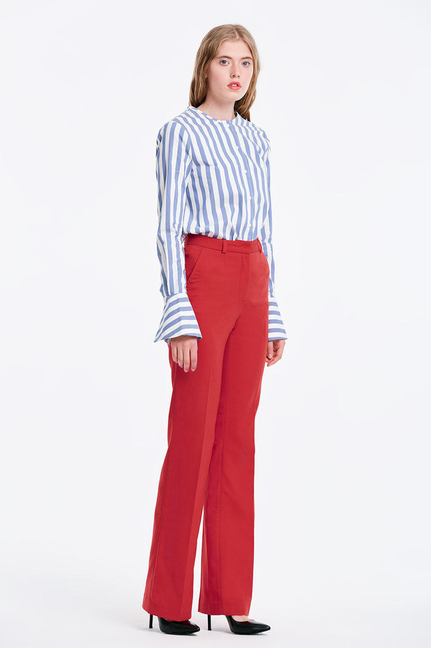 Red trousers photo 4 - MustHave online store