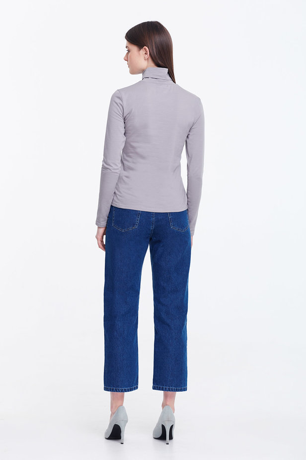 Grey polo neck photo 3 - MustHave online store