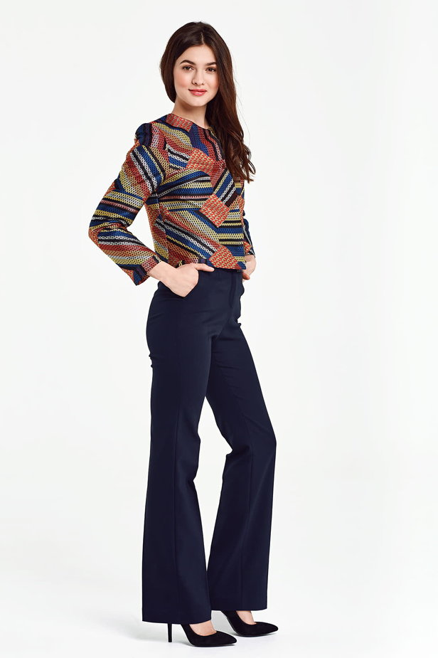 Short multicolored jacket with lurex photo 5 - MustHave online store