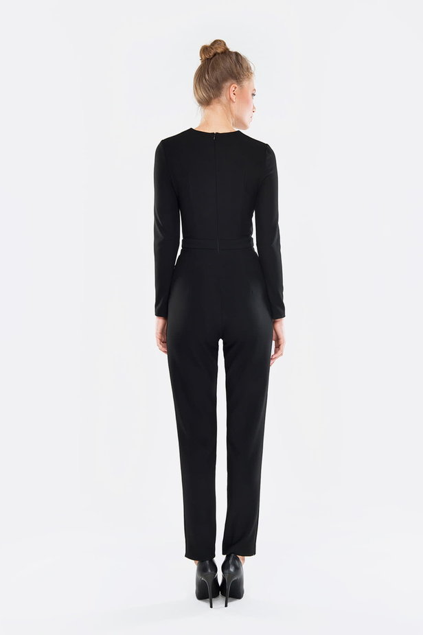 Black jumpsuit photo 4 - MustHave online store