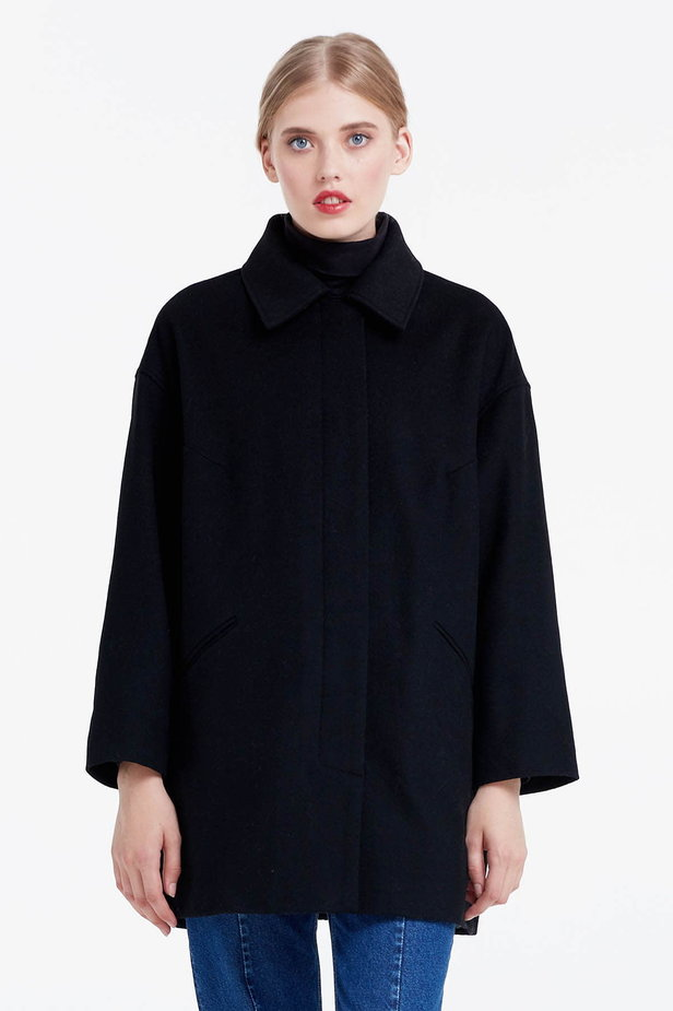 Black coat photo 1 - MustHave online store
