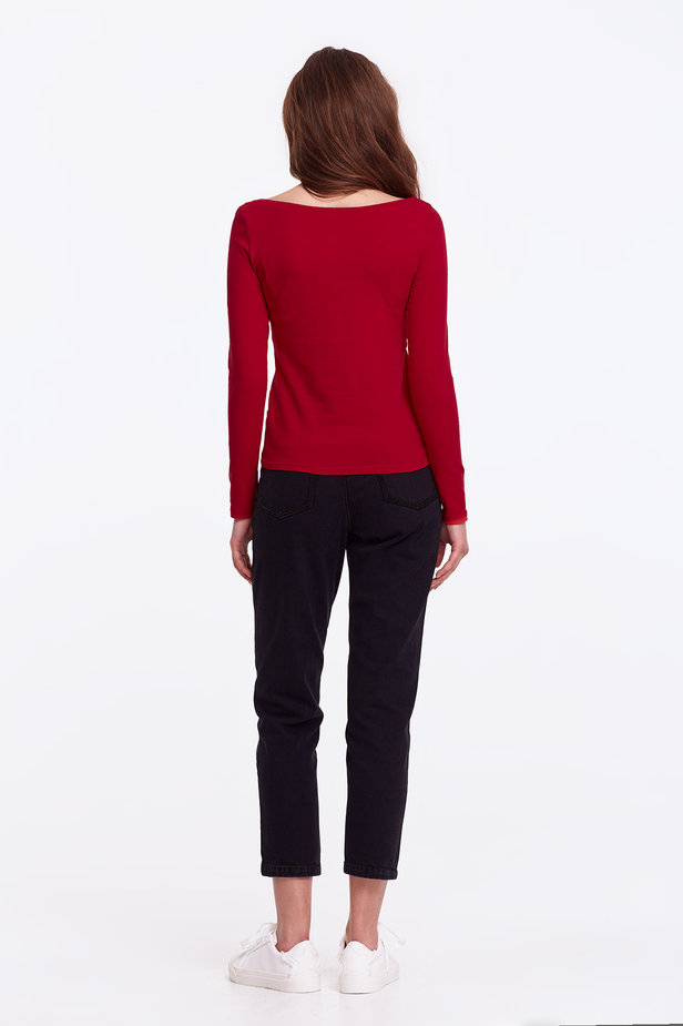 Red jumper photo 4 - MustHave online store