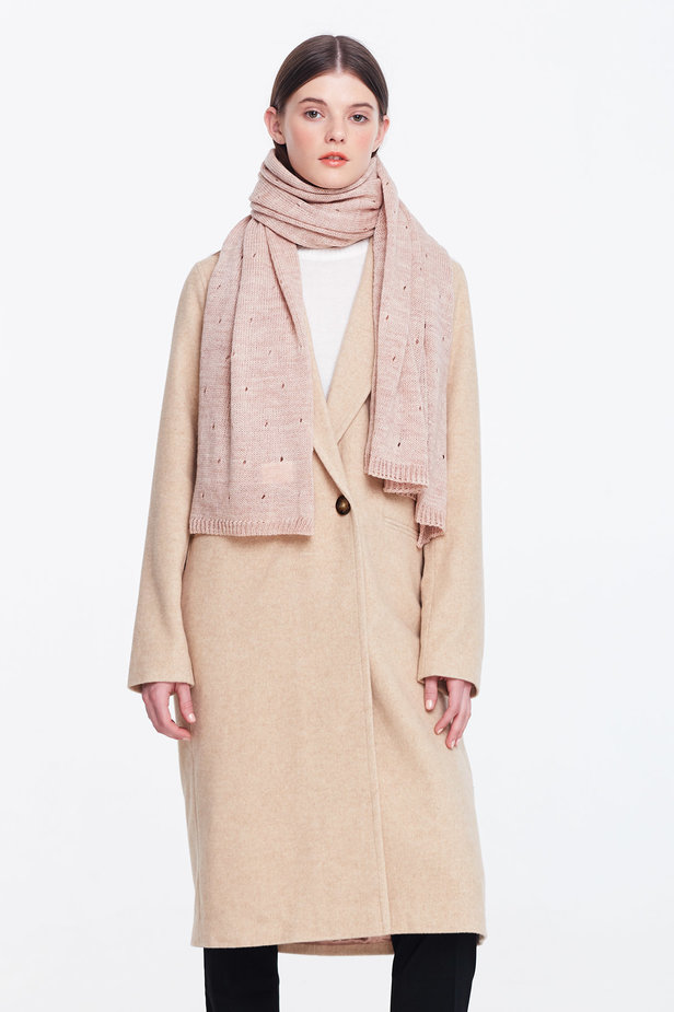 Beige scarf photo 1 - MustHave online store