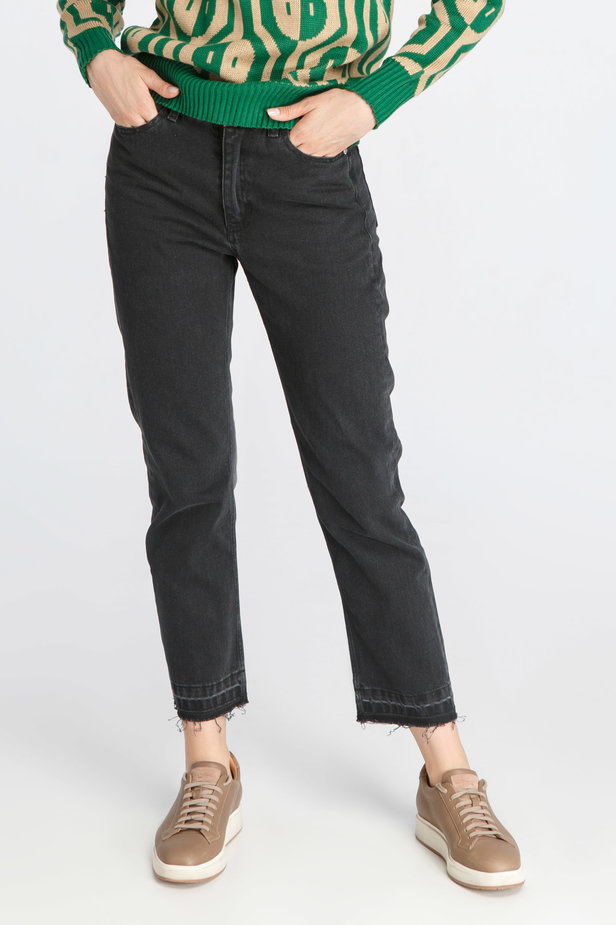 Black Flare Jeans photo 1 - MustHave online store